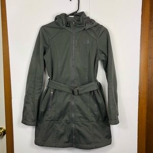 The North Face Belted Parka Jacket Sz XS